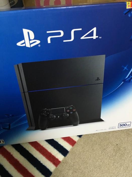 幸運の PS4