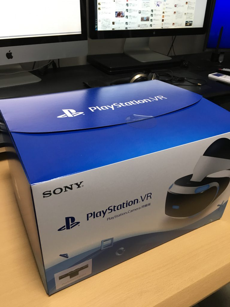 PlayStation VR 外箱